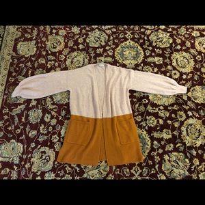Madewell long cardigan